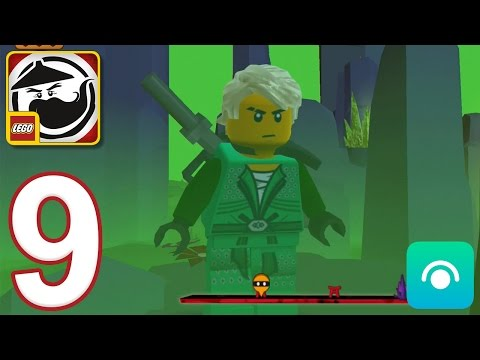 LEGO Ninjago WU-CRU - Gameplay Walkthrough Part 9 - Lloyd Saved (iOS, Android)