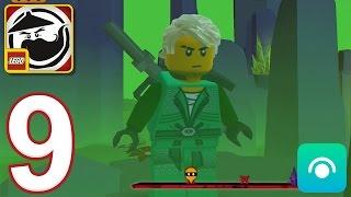LEGO Ninjago WU-CRU - Gameplay Walkthrough Part 9 - Lloyd Saved (iOS, Android)