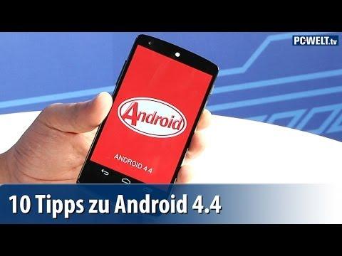 10 Tipps zu Android 4.4 Kitkat | deutsch / german
