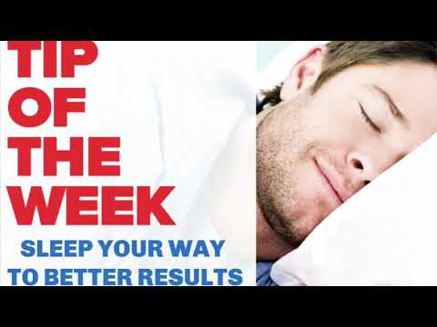 Learn how sleep can dramatically increase your results in the gym!