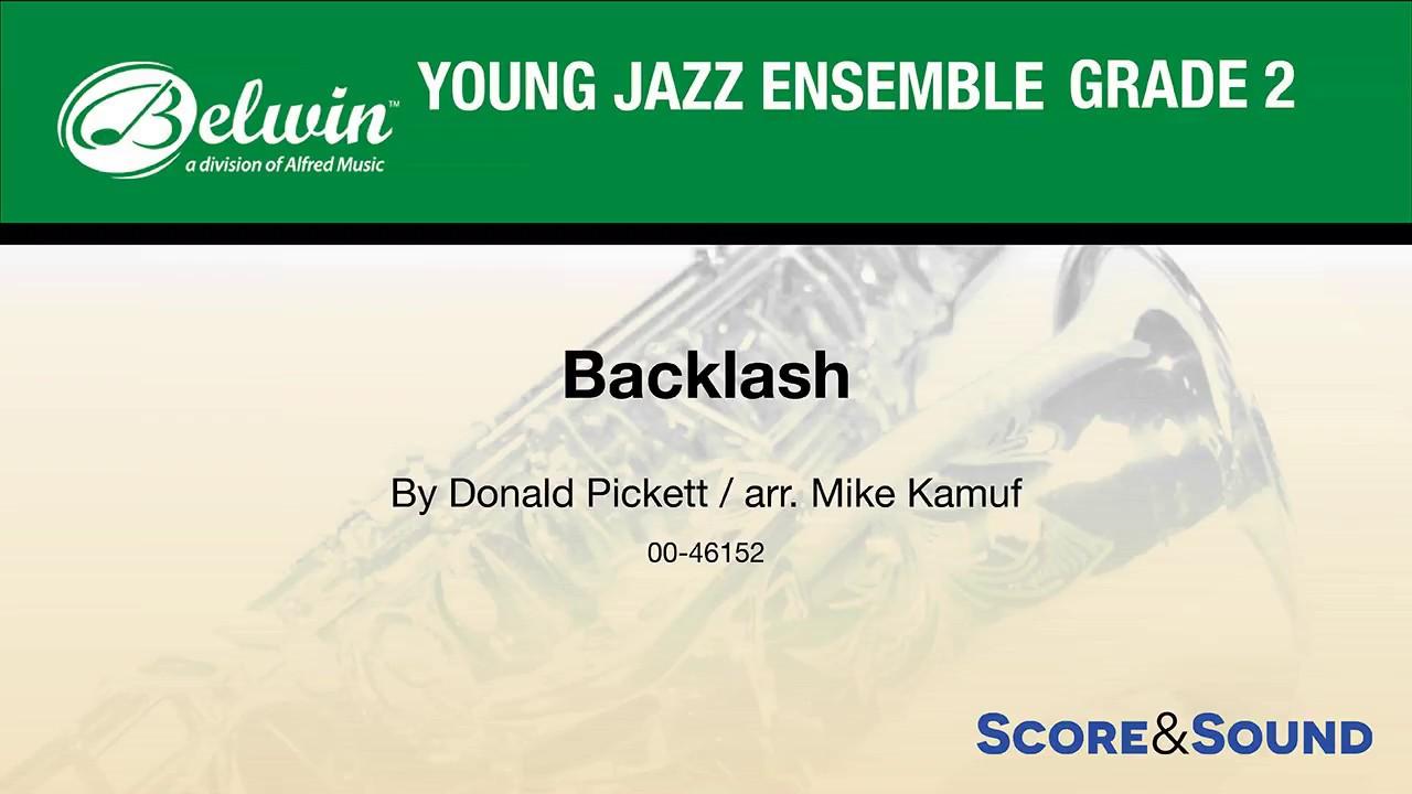 Download Backlash, arr. Mike Kamuf – Score & Sound