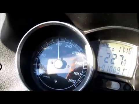 Piaggio Mp3 400 Lt und Dr.Pulley 17g Geitrollen Beschleunigung