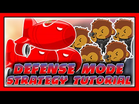 How To Play Defense Mode (Strategy Tutorial) Bloons TD Battles (BTD Battles)