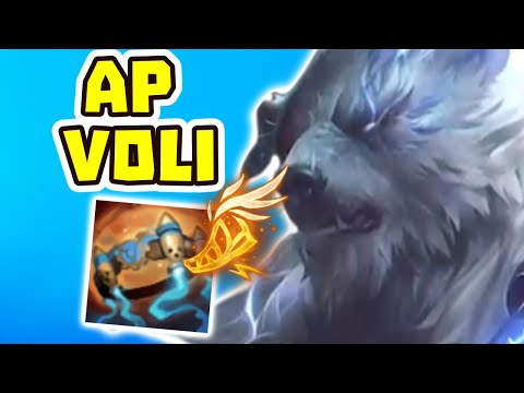 END GAMES QUICK WITH AP VOLIBEAR!!? | VOLIBEAR JUNGLE IS BROKEN! | League of Legends
