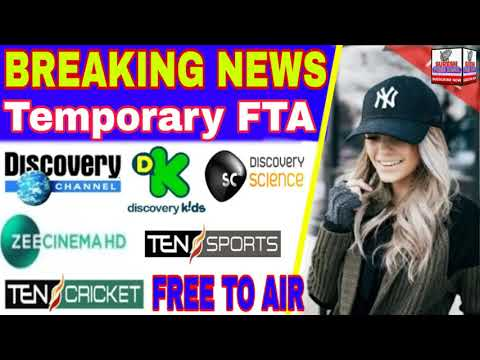 BREAKING NEWS $Pead Channel Temporary Free To Air Zee Cinema And Ten Cricket