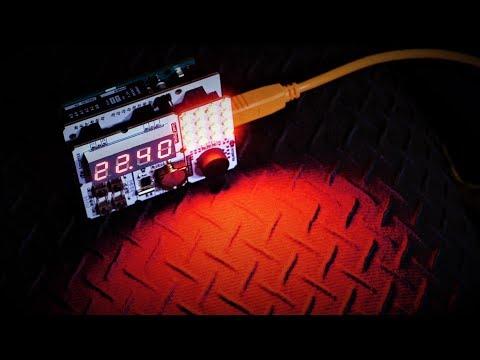 Бионический будильник на Arduino Uno за 5 простых шагов. Мини-проекты Амперки