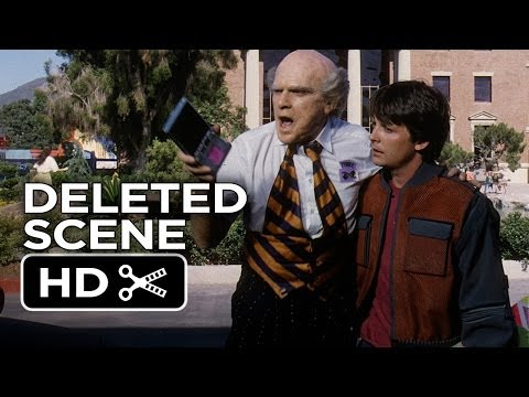 Back To The Future Part II Deleted Scene - Old Terry and Old Biff (1989) Movie HD