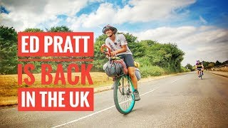 Ed Pratt is back in the UK so i rode 50 miles with him