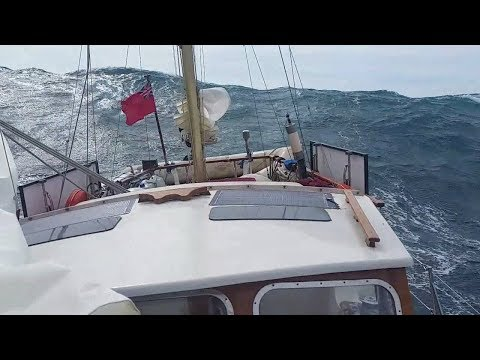 Ep009 Stormy Sailing in the Mediterranean: Big Seas & Gale F