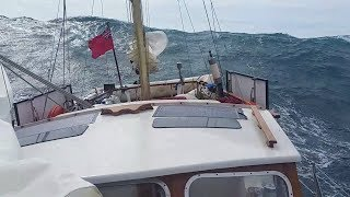 Ep009 Stormy Sailing in the Mediterranean: Big Seas & Gale Force Winds