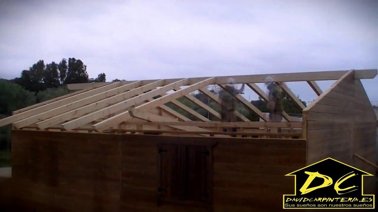Casas de madera barbate c diz andalucia espa a somos fabricantes youtube - Casas de madera en cadiz ...