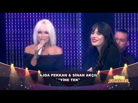 Ajda Pekkan & Sinan Akçıl - Yine Tek (Canlı Performans)