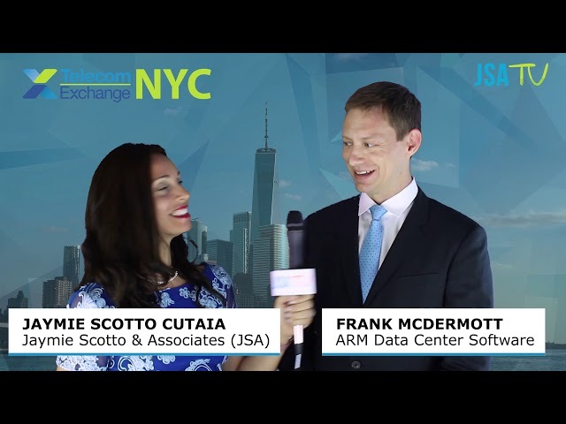 TEX NYC 2019:  ARM Data Center Software CEO on Revolutionary Software Platform, cARMa®