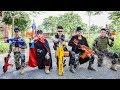 Nerf Guns War : S.W.A.T Men Of TTNerf Team Special Catch Ninja Super Boss XX Criminal Dangerous