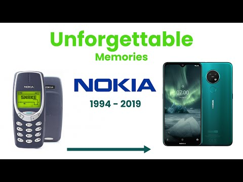Nokia all phones - Nokia unforgettable memories (1994-2019)