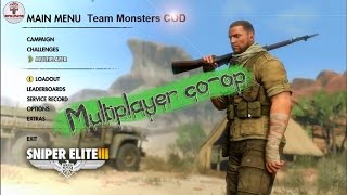 How to play Sniper Elite III Afrika Multiplayer Co-op + Download Files