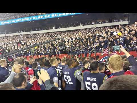 """Navy """"Alma Mater"""" Post 2015 Win Over Army"""