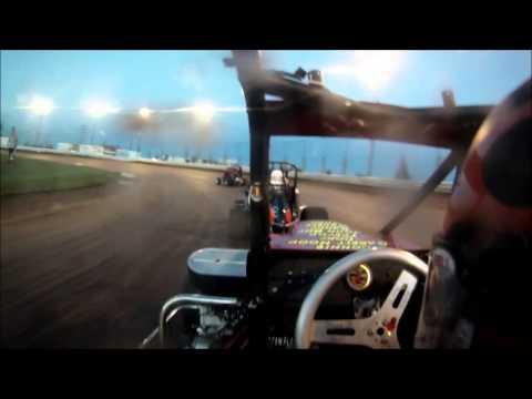 Cole McDaniel Kam Raceway Wreck
