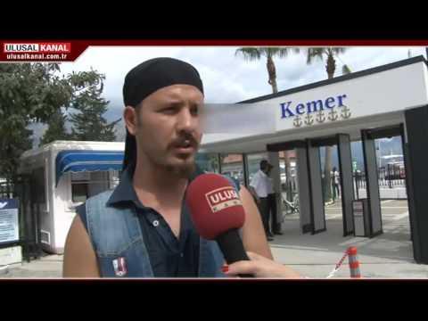 Antalya'nın Kemer ilçesinde turizm esnafının yüzü artık gülüyor