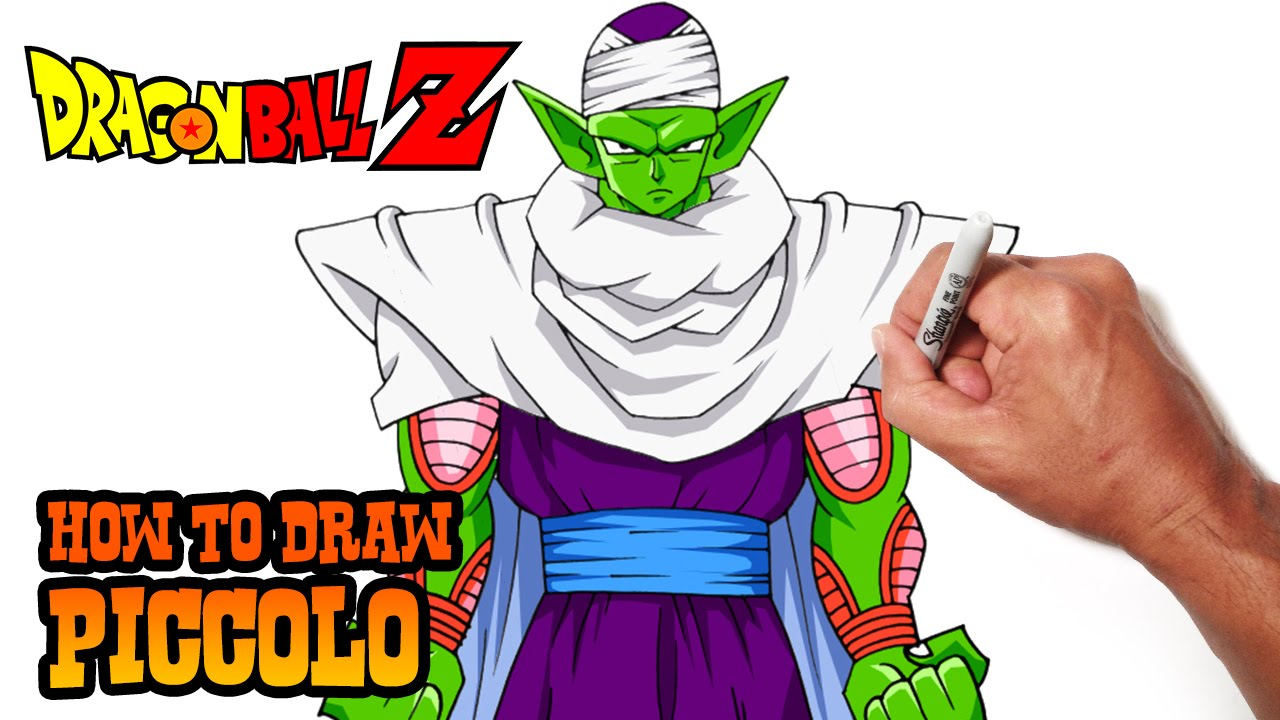 How to Draw Piccolo | Dragon Ball Z - YouTube