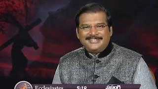 The Seven Words Of Jesus (English - Telugu) | Dr. Paul Dhinakaran