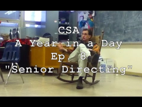 """cleveland school of the arts a year in a day web series I Ep 8 I """"Senior Directing"""""""