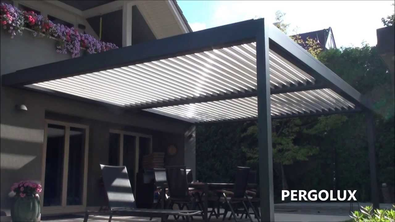 Outdoor Living Louvred Pergola B200 By Pergolux In Hd