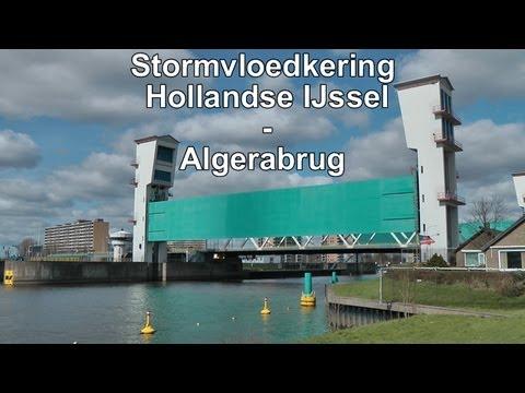 Stormvloedkering Hollandse IJssel - Algerabrug