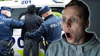 Pojat HUIJASI POLIISEJA ja TÄMÄ TAPAHTUI...