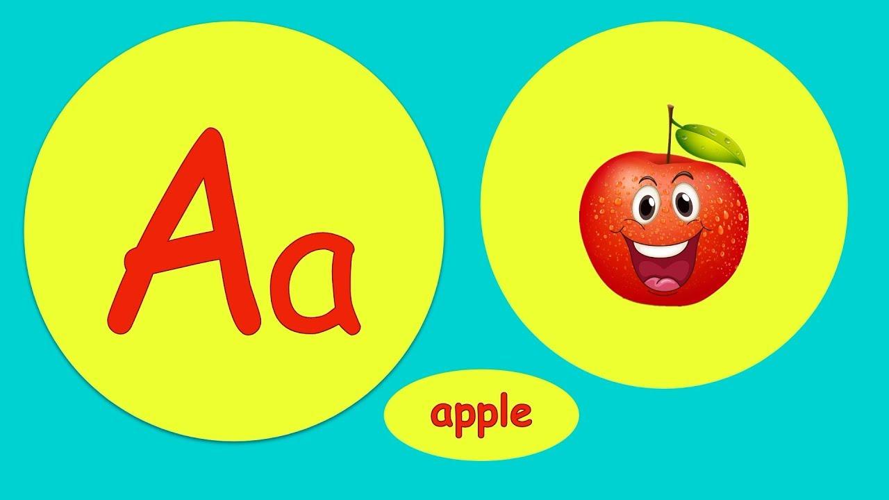 ABC教學 簡單易學 英文字母歌 兒童歌曲 零基礎 小朋友學英文 【西瓜寶寶學英語】Learn English ABC Song - YouTube