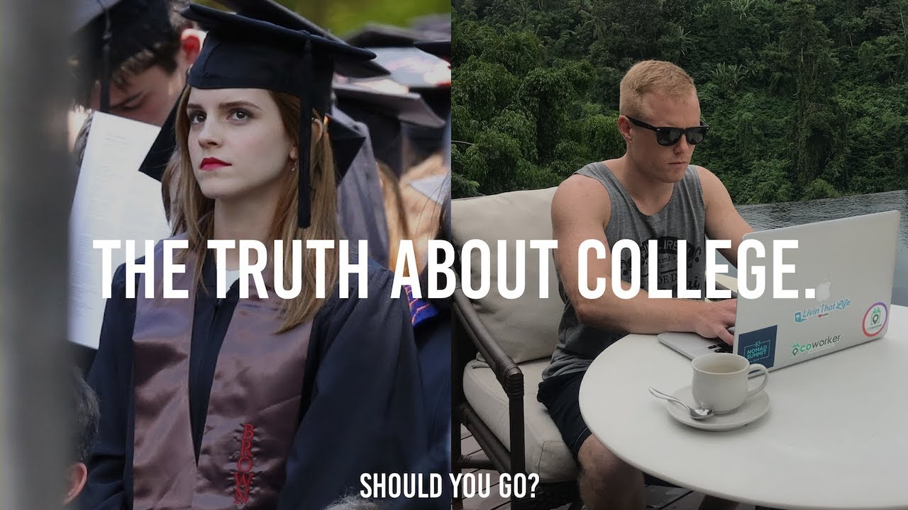 IS COLLEGE WORTH IT IN 2018? ?(Top 3 Pros & Cons of University)