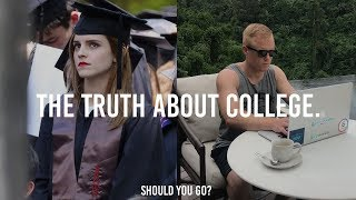 IS COLLEGE WORTH IT IN 2018? 💸(Top 3 Pros & Cons of University)