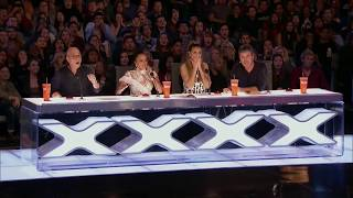 Artist Risks His Life During AGT Audition - America's Got Talent 2017
