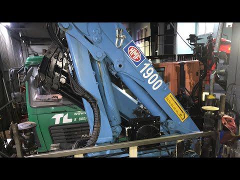 Что делать если двигатель а/м глохнет при работе манипулятором? В нашем сервисе - КМУ HMF 1903 K4