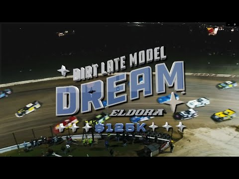 25th Dirt Late Model Dream     LIVE via online streaming PPV