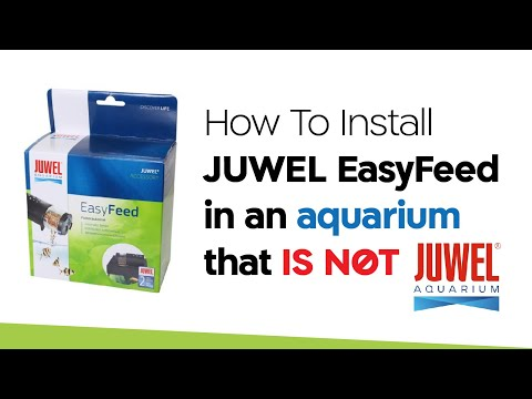 How To Install JUWEL EasyFeed in an aquarium that is not JUWEL
