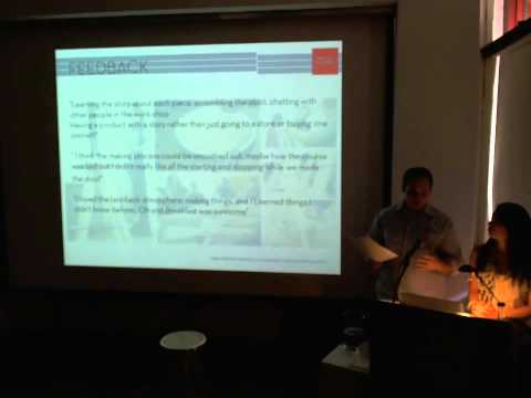 People and Things - Pratt Masters of Industrial Design - Thesis Presentations 2012, Part 2