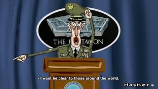 """Генерал США угрожает России """"Взбучкой"""" Прикол!!!"""