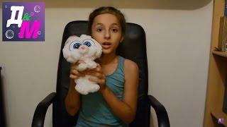 """Кролик Снежок из мультфильма """"Тайная жизнь домашних питомцев"""" своими руками.Шьем игрушку."""
