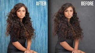 طريقة ذكية بسرعة قناع الشعر و تغيير الخلفية في الفوتوشوب باستخدام تراكب