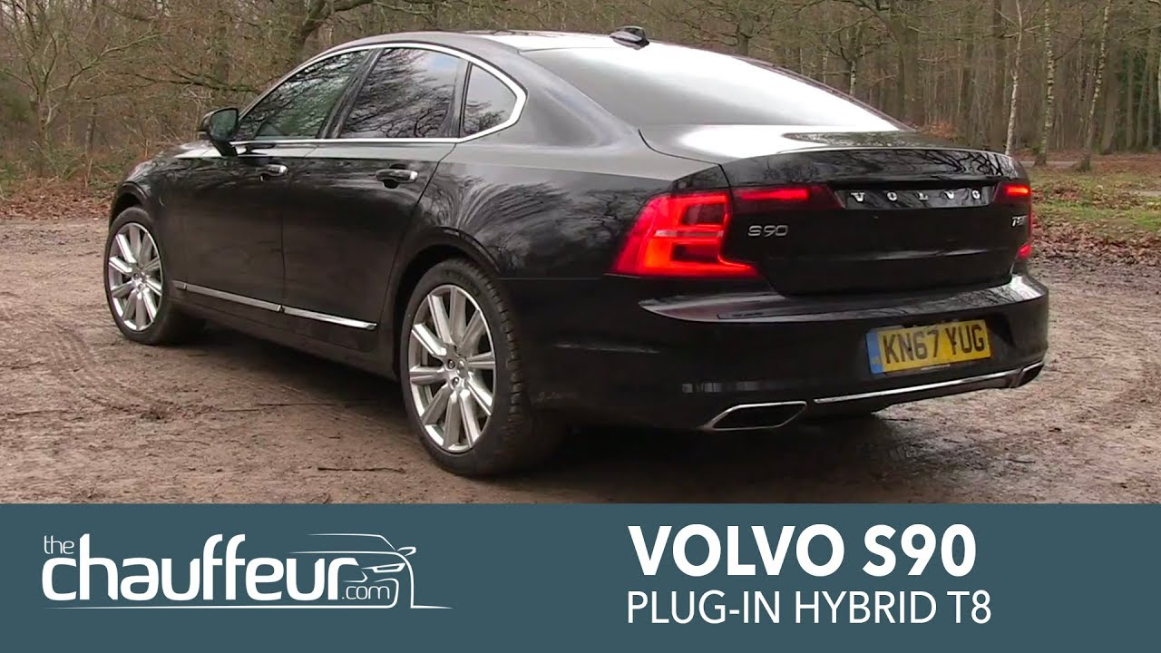 2018 Volvo S90 Plug-in Hybrid T8 Twin Engine Overview