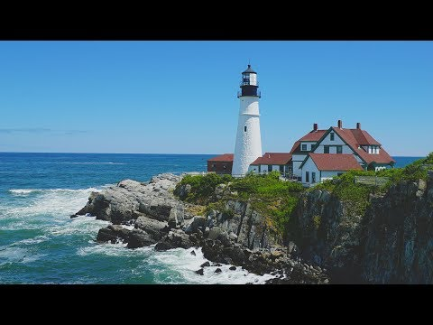 VACATION IN MAINE 2017 | TRAVEL VLOG IN 4K