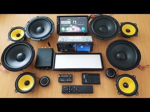 Gadgets: Android/Mp5 Radios, Amp, Light, Woofers And Tweeters