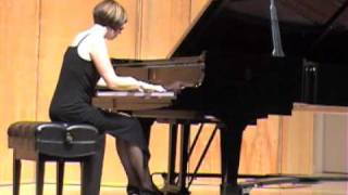 "Jessica Mellott plays ""Dreaming"" Op. 15, No. 3 by Amy Marcy Cheney Beach"