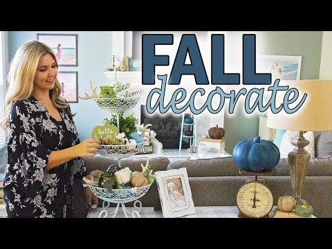 Fall Farmhouse Decor 2019 DIY ⭐ Fall Tiered Tray Decor Ideas ⭐ Fall Decorate with me