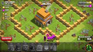 Prvi video na kanalu | Clash of clans #1 (TeOx YT)