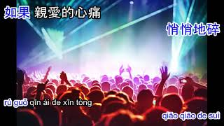 Yong bao ni li qu - 擁抱你離去 dj karaoke
