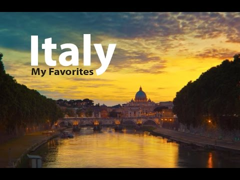 Italy Top Places to Visit and Photograph, 4K Ultra HD