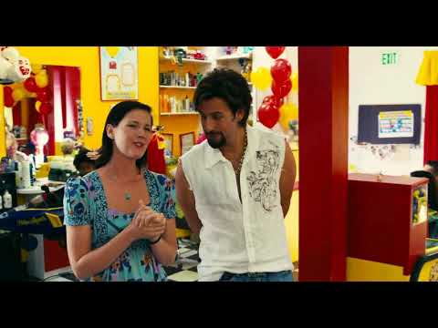 You Don't Mess With The Zohan 2008 In Hindi : Salon Zohan With Child [05]