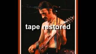 "Frank Zappa The restored song ( ""Black Napkins"" Hamburg 1976)"